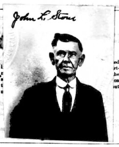 John L. Stone in his early seventies.