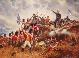 The Battle of New Orleans by Edward Percy Moran