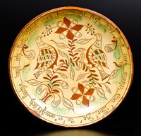 Samuel Troxel Plate, Dated 1833