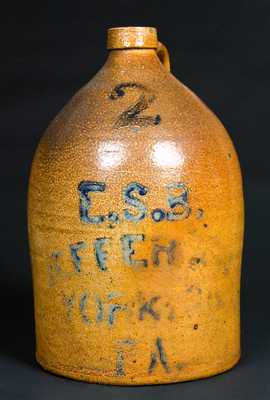 Very Rare Pfaltzgraff Advertising Jug