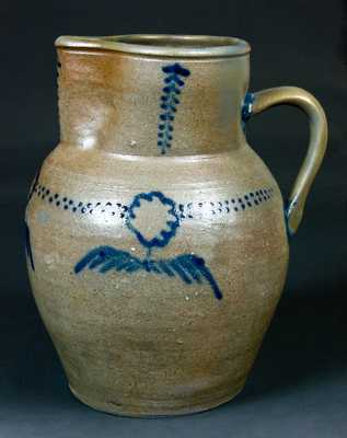 Two-Gallon James River, VA Stoneware Pitcher