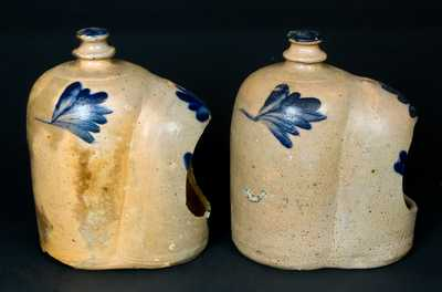 2 Stoneware Chicken Waterers, Remmey, Philadelphia