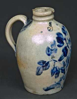 Stoneware Gemel Jug with Initials