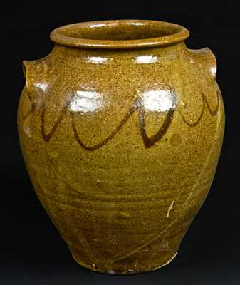 Early Edgefield, South Carolina Stoneware Jar