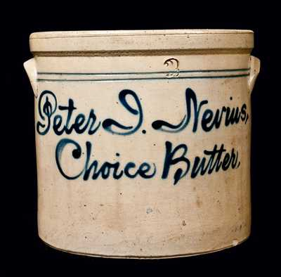 Choice Butter Crock, Fulper Pottery, Flemington, NJ
