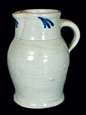 Bristol Slip Stoneware Pitcher, attrib. Thomas Haig, Jr, Philadelphia