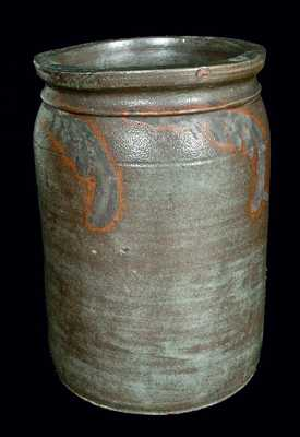 Strasburg, Virginia, Stoneware Jar w/ Manganese Decoration