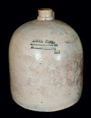 Halethorpe, MD Advertising Stoneware Jug