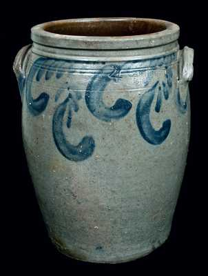 S. BELL & SON / STRASBURG, Virginia, Stoneware Jar