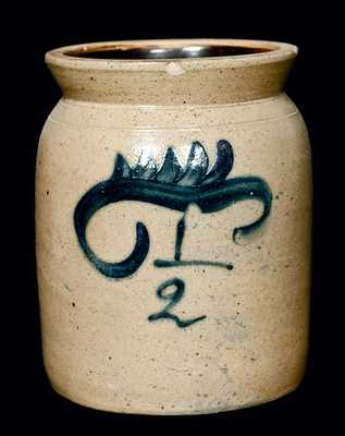 New York Stoneware Jar