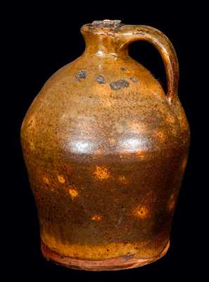 New England Redware Small-Sized Jug