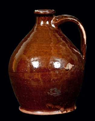 Small-Sized American Redware Jug