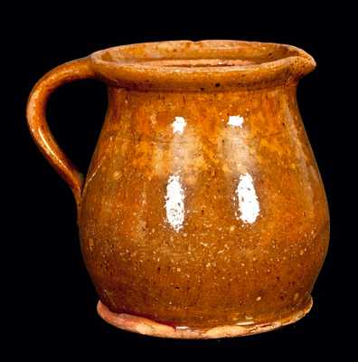American Redware Pitcher
