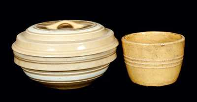 (2) Pieces of Yellowware