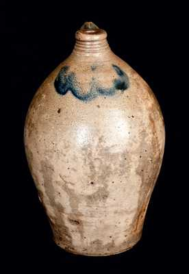 Ovoid Stoneware Jug attrib. C. Crolius, New York City