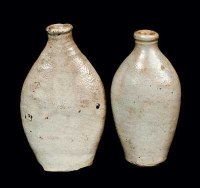 Lot of Two: Stoneware Flasks