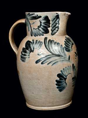 3 Gal. Stoneware Pitcher, Baltimore, circa 1860