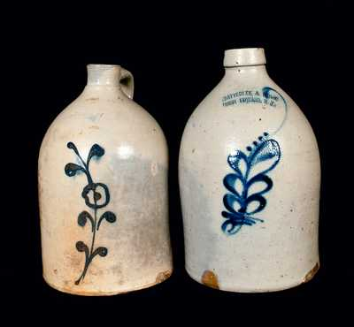 Lot of Two: New York State Stoneware Jugs