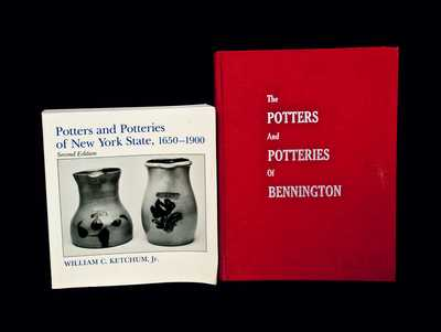 Lot of Two Books: POTTERS AND POTTERIES OF BENNINGTON and POTTERS AND POTTERIES OF NEW YORK STATE