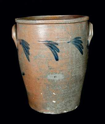 Rare Six-Gallon J. SWANK / JOHNSTOWN, PA Stoneware Crock