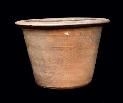 Southern Stoneware Jar with Inscribed Mathematical Notations