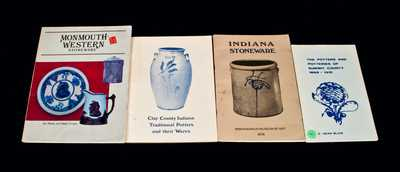 Lot of Four: Books on Midwestern Stoneware