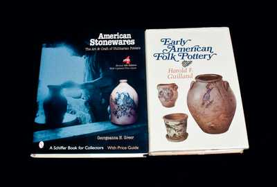 Lot of Two: Books on American Stoneware