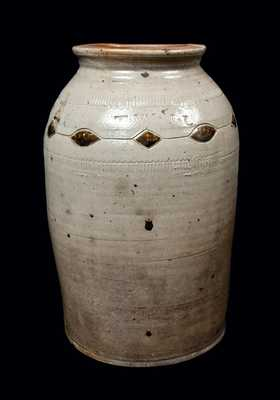 Warne & Letts, South Amboy, NJ Stoneware Jar