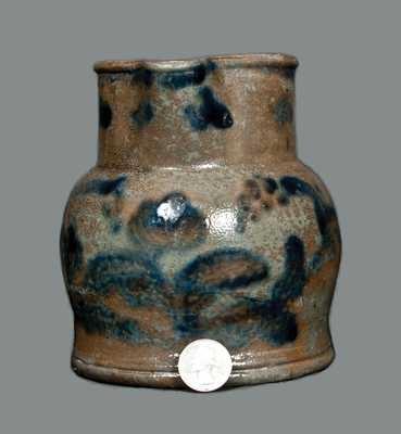 Small-Sized Stoneware Pitcher, attrib. Henry Glazier, Huntingdon, PA