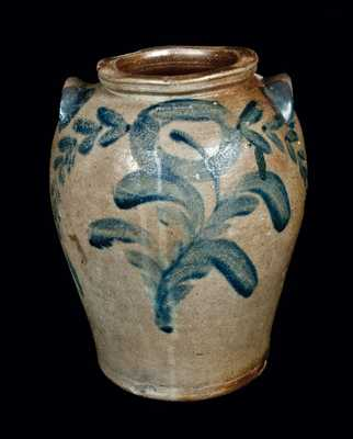 Rare JOHN WALKER, Washington, DC, Stoneware Crock