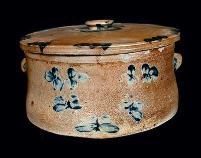 Baltimore Stoneware Cake Crock with Lid