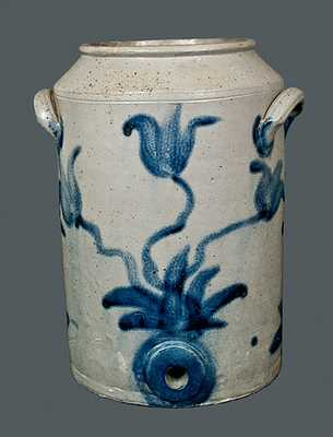 Rare Philadelphia, PA Double-Sided Stoneware Water Cooler