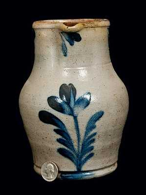 Richard Remmey, Philadelphia, PA, Stoneware Quart-Sized Pitcher