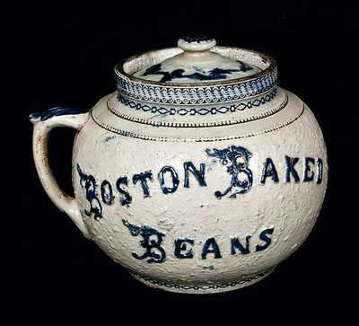 WHITES UTICA Stoneware Boston Baked Beans Pot