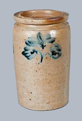Enoch Burnett, Washington, DC Stoneware Crock, c1860