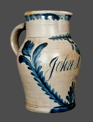Exceptional Richard Remmey, Philadelphia, PA, Stoneware Presentation Pitcher