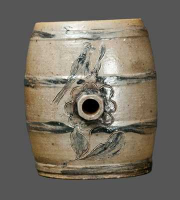 Incised Stoneware Keg, Albany, New York, area