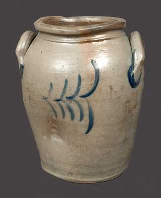 1 Gal. James River, VA Decorated Stoneware Crock