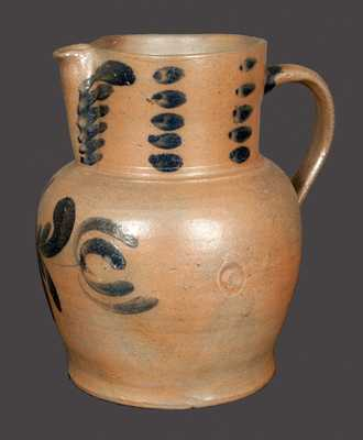 Extremely Rare G. & A. BLACK (Somerfield, PA) Stoneware Pitcher