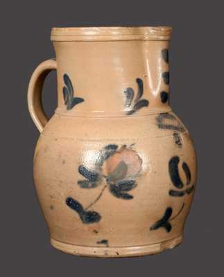 Very Rare M. & T. MILLER / NEWPORT, PA 2 Gal. Stoneware Pitcher
