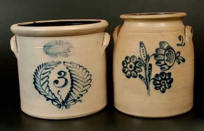 Lot of Two: Rochester, NY Stoneware