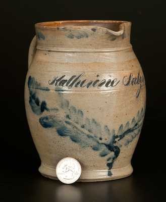 Richard C. Remmey, Philadelphia, PA Presentation Pitcher w/ Form Reminiscent of Fine English Ceramics