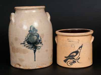 Lot of Two: NJ Stoneware (T. F. CONNOLLY / NEW BRUNSWICK and FULPER BROS. / FLEMINGTON, NJ)