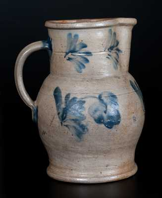1/2 Gal. Stoneware Pitcher Signed R.C.R. / PHILA., Richard Remmey, Philadelphia