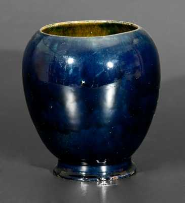 George Ohr Pottery Cabinet Vase, Signed