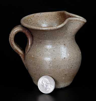 Miniature Stoneware Pitcher, North Carolina Origin, late 19th or early 20th century