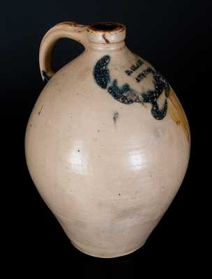 Three-Gallon Stoneware Jug, Stamped