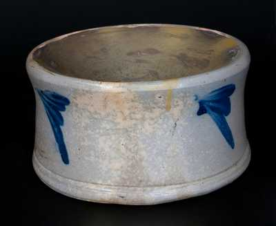 Stoneware Spittoon att. R. J. Grier, Chester County, PA