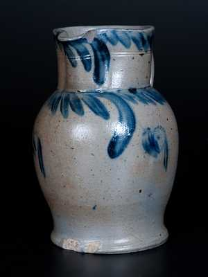 Half-Gallon Baltimore Stoneware Pitcher
