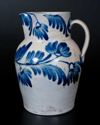 Baltimore Stoneware Pitcher w/ Elaborate Decoration